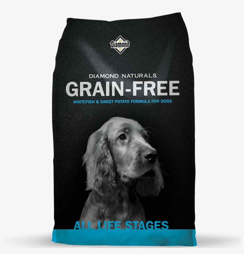 Diamond Naturals Grain Free Whitefish & Sweet Potato - Diamon Naturals Grain Free Dog Food, transparent png #1810440