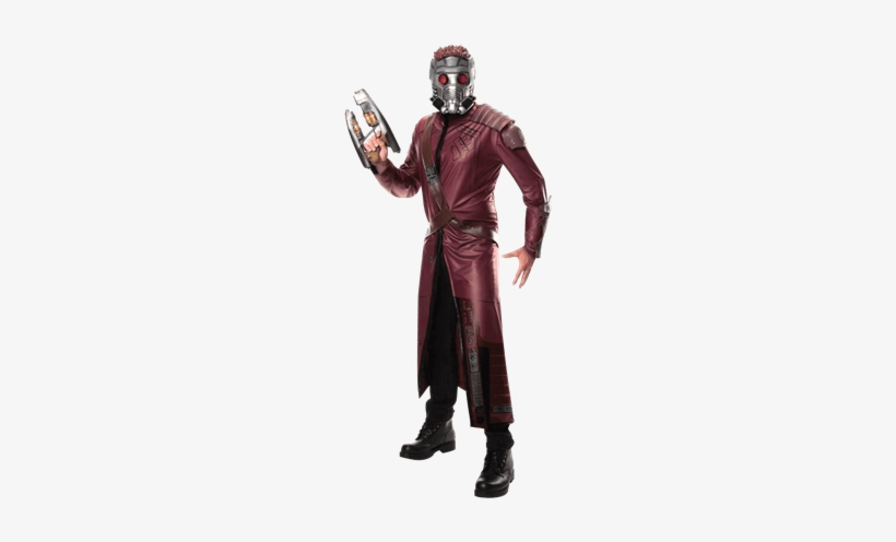 Adult Deluxe Star-lord Costume, transparent png #1810521