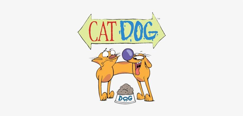 Nick 90s - Catdog Nickelodeon, transparent png #1813314