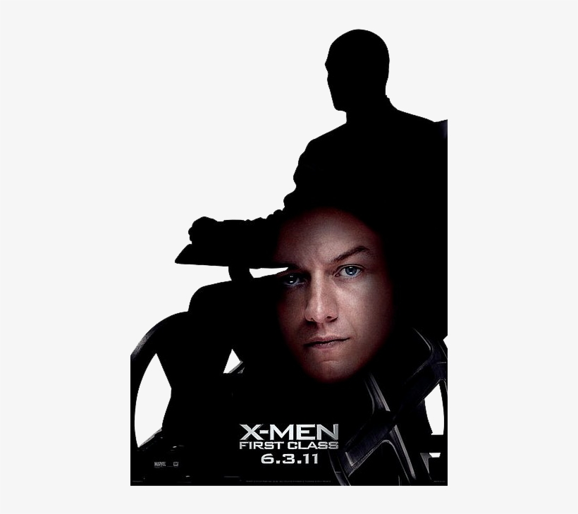 First Class Is Scheduled For Release On 3rd Day Of - X Men First Class Xavier Poster, transparent png #1813574