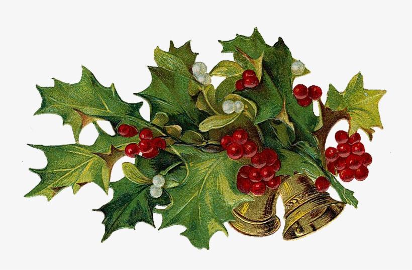 Vintage Victorian Christmas Die Cut Clipart - Vintage Christmas Clip Art, transparent png #1813819