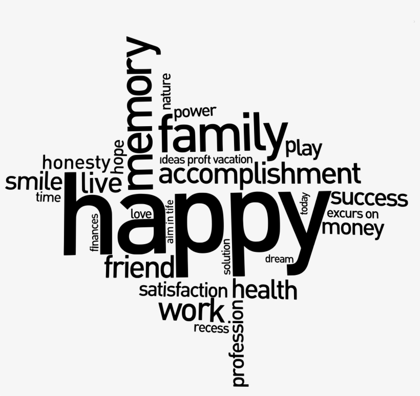 Medium Image - Inspirational Quote For A Happy Family, transparent png #1815373