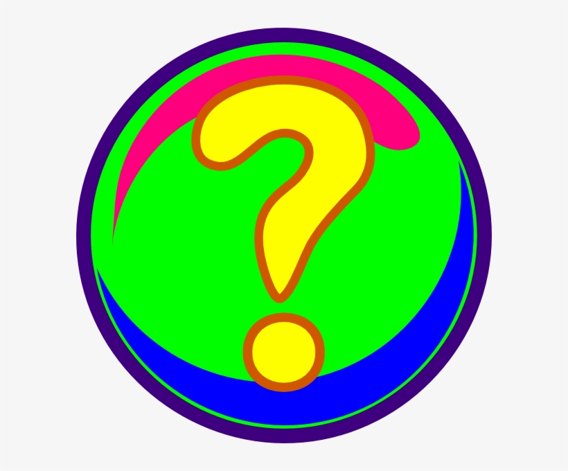 image about Printable Question Mark referred to as Down load Free of charge Printable Clipart And Coloring Web pages - Great