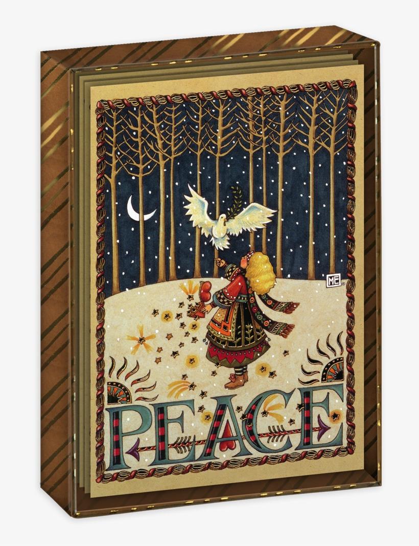 Peace Dove Boxed Christmas Cards - Christmas Hugs Mary Engelbreit