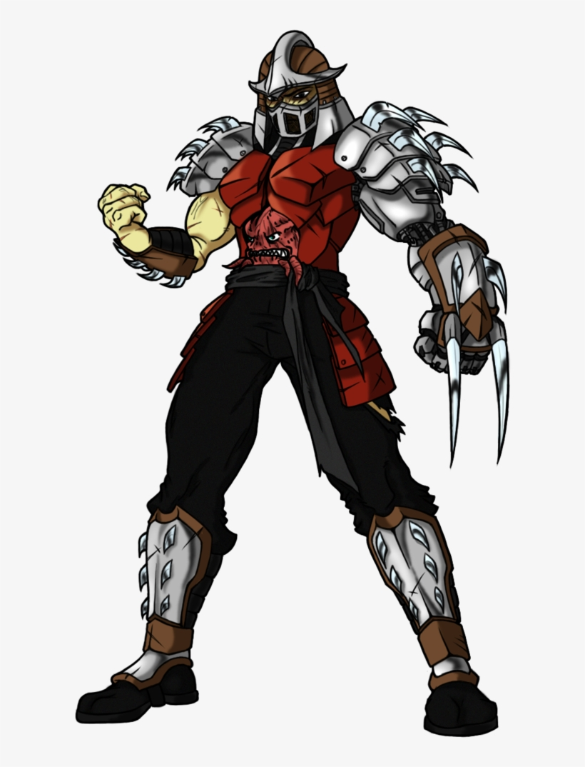 Utrom Shredder By Elden Rucidor On Deviantart Turtle Shredder