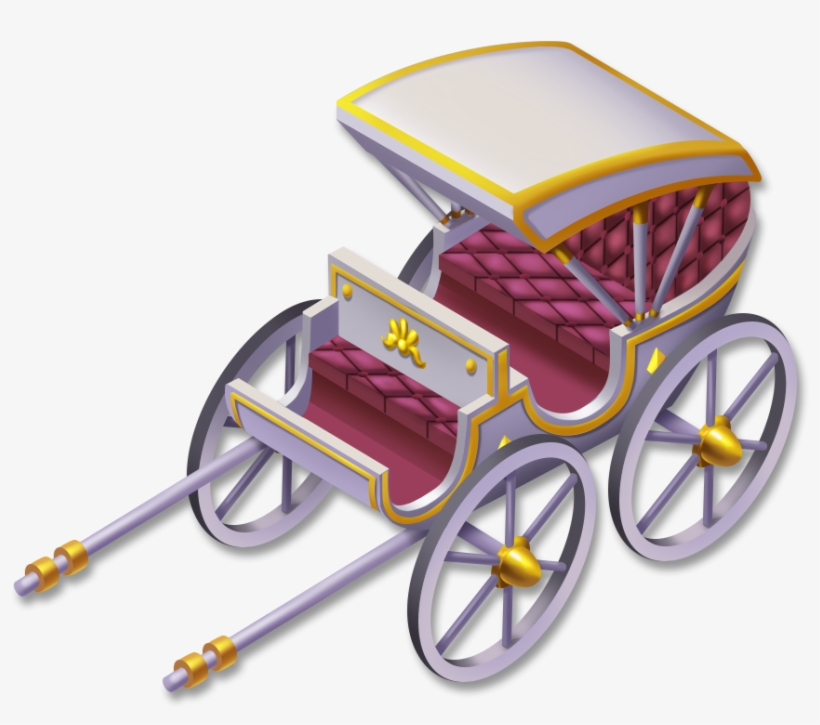 White Carriage - White Carriage Hay Day, transparent png #1821138