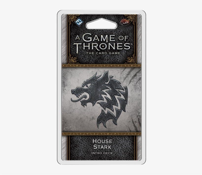 A Game Of Thrones Lcg - Game Of Thrones Lcg 2nd Edition House Stark Intro Deck, transparent png #1824200