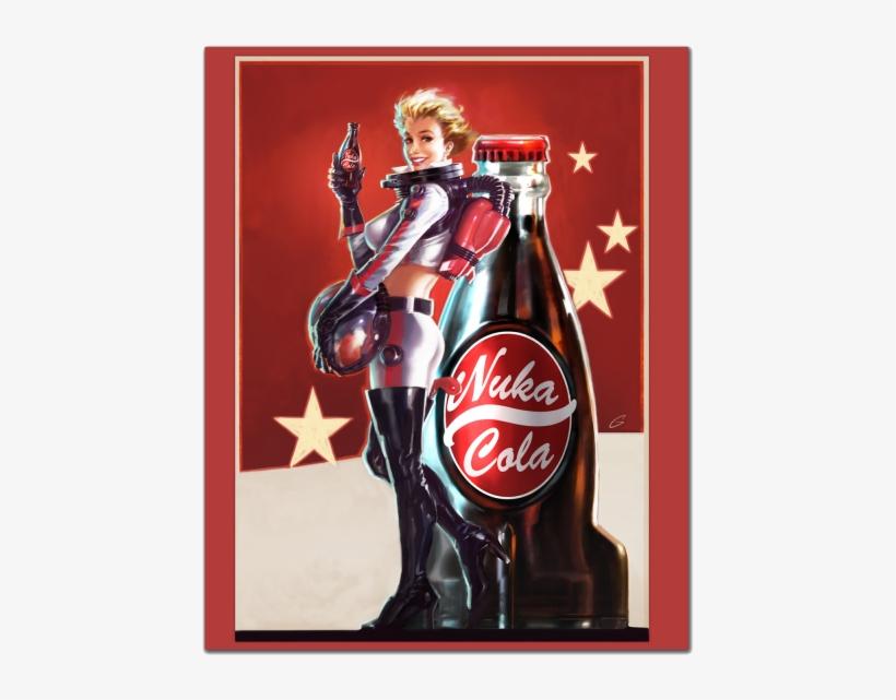 Fallout 4 Stone Slab Nuka Cola Portrait - Posters Fallout Nuka Cola, transparent png #1824224
