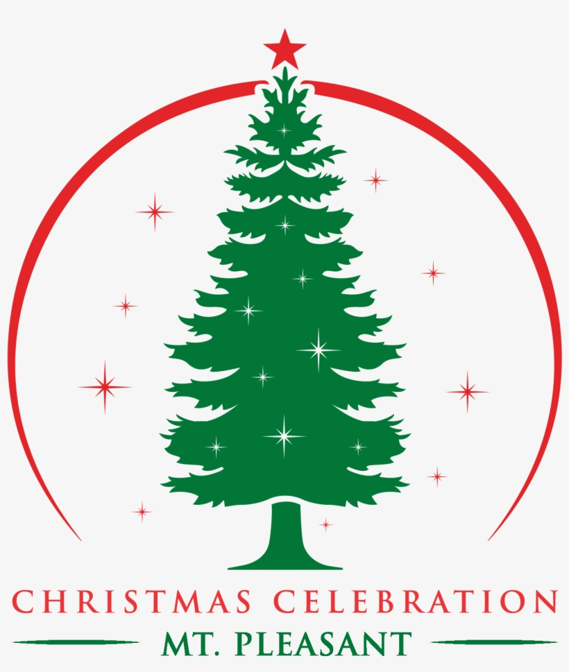 Mclaren Central Hospital Named Grand Marshal Of Lighted - Pine Tree Silhouette Simple, transparent png #1824273
