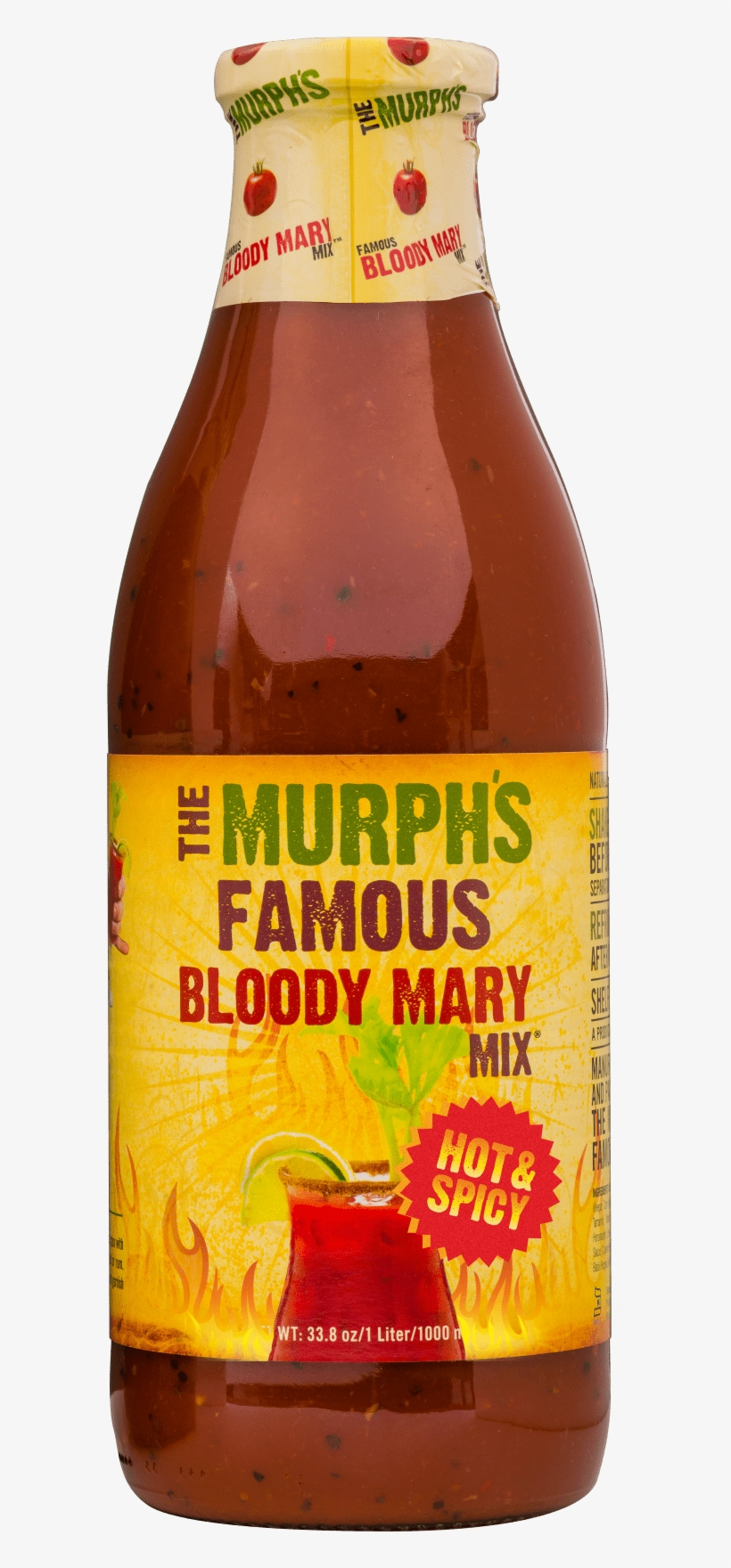 He's Stephen Murphy, A Wall Street Guy Turned Mixology - Bloody Mary, transparent png #1824611