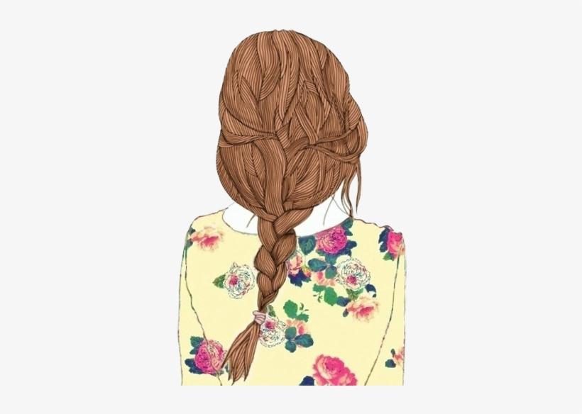 Tumblr Layouts Ilustracao Free Menina Desenho Tumblr Png Free