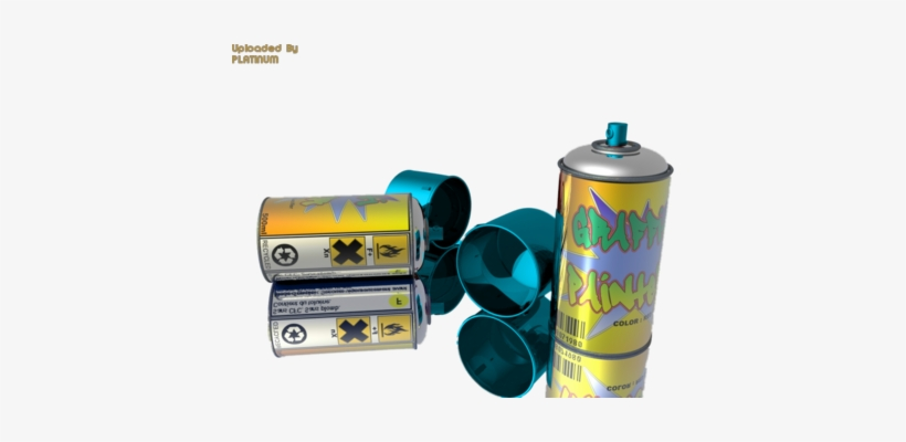 Spray Paint Cans - Graffiti - Free Transparent PNG Download - PNGkey