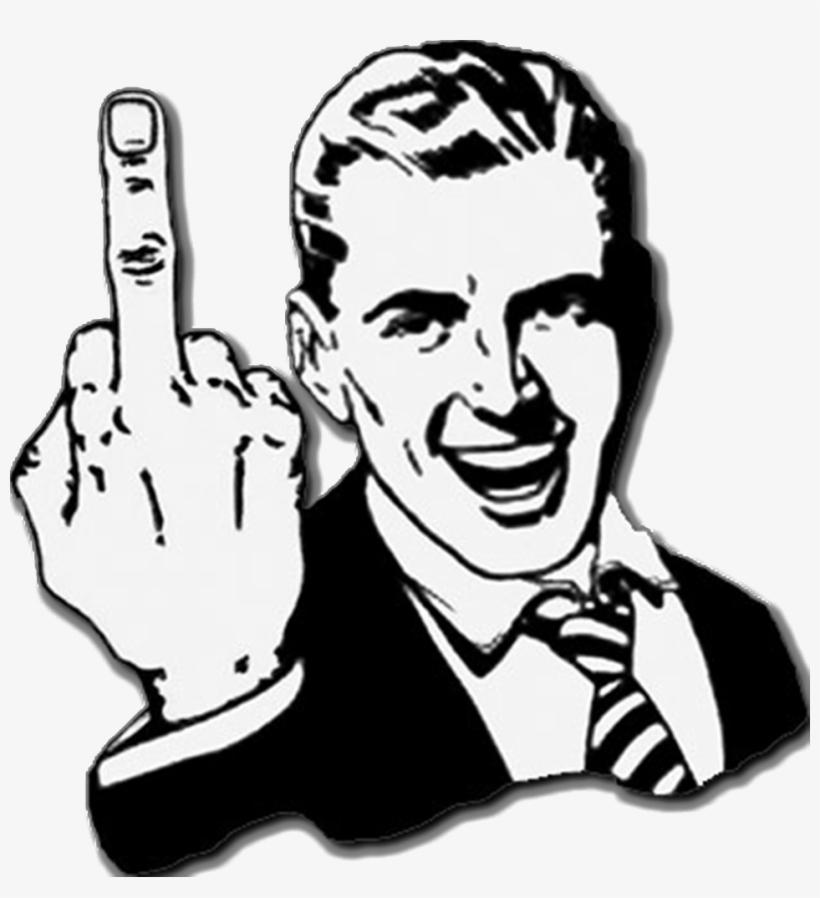Remember Folks - Middle Finger Throw Blanket, transparent png #1825640
