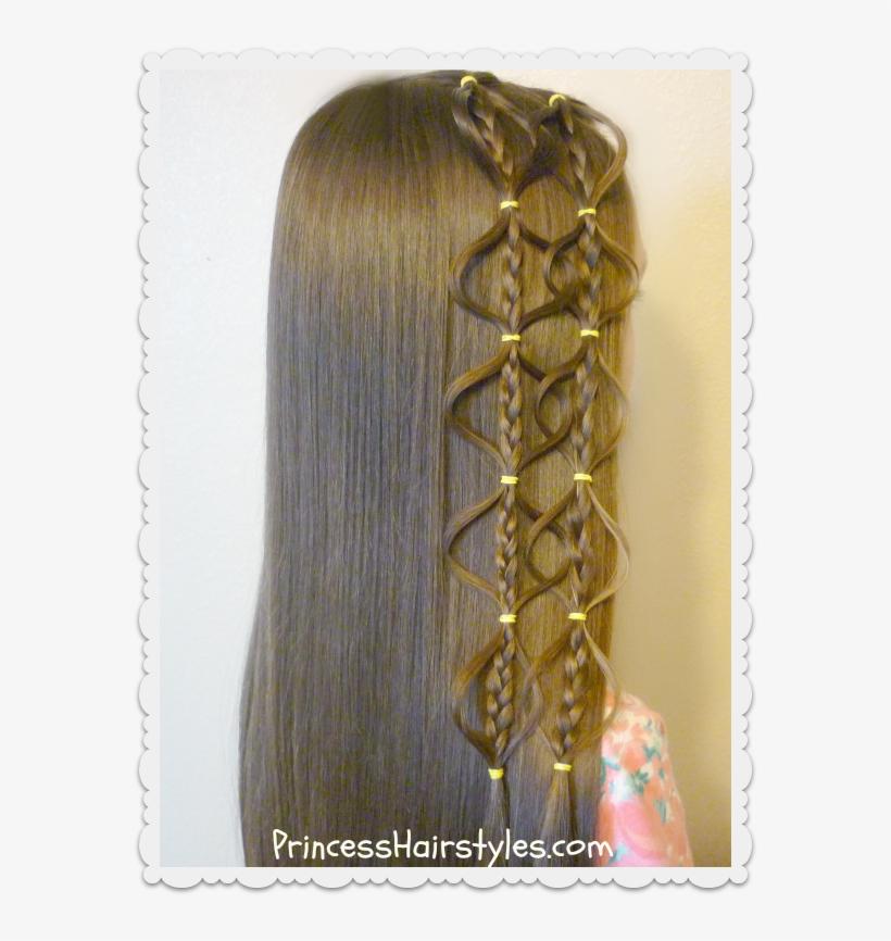 Interlocking Floating Bubble Braid Hairstyle Hair Style Video 3gp