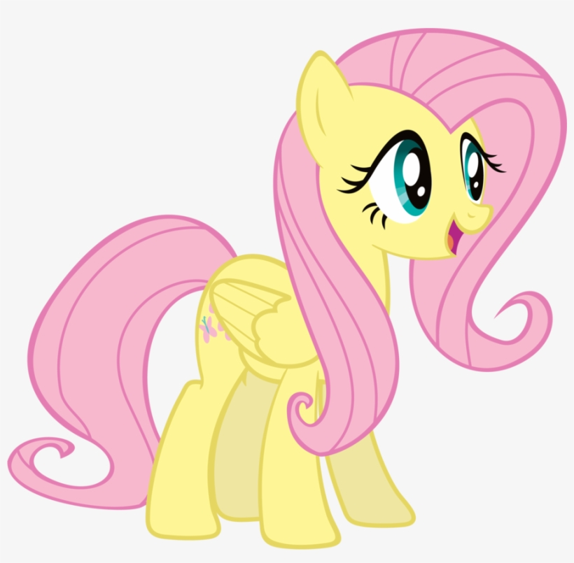 Fluttershy - Maud Pie And Fluttershy, transparent png #1827739