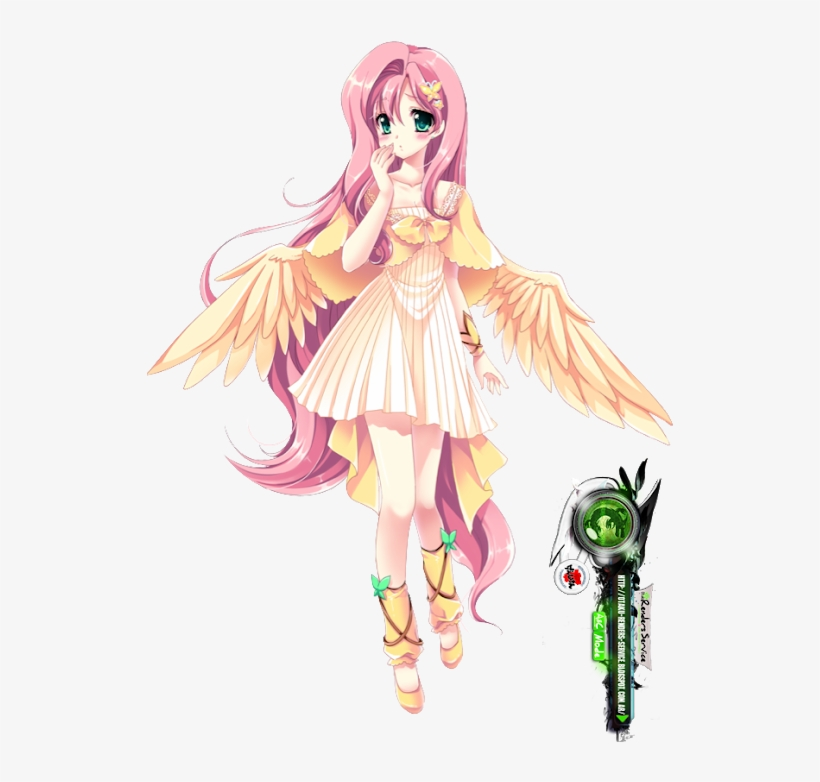 Photo My Little Pony Fluttershy Human Free Transparent Png Download Pngkey