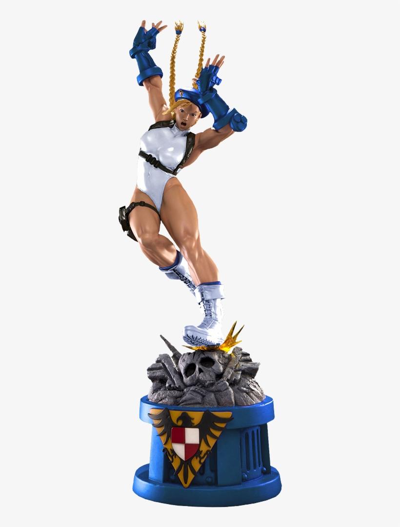Cammy Player 2 White Statue - Street Fighter - Cammy 1:4