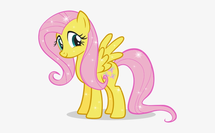 Fluttershy My Little Pony Sari Free Transparent Png Download Pngkey