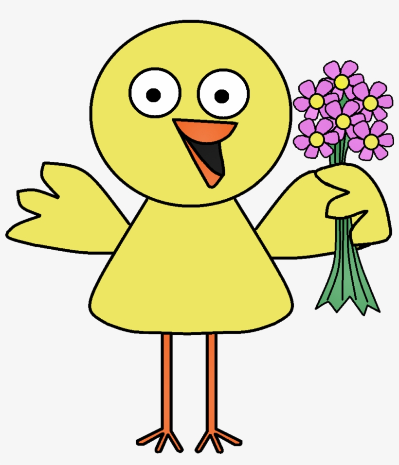 Download The Files Here - Spring Birds Flowers Clipart, transparent png #1830726