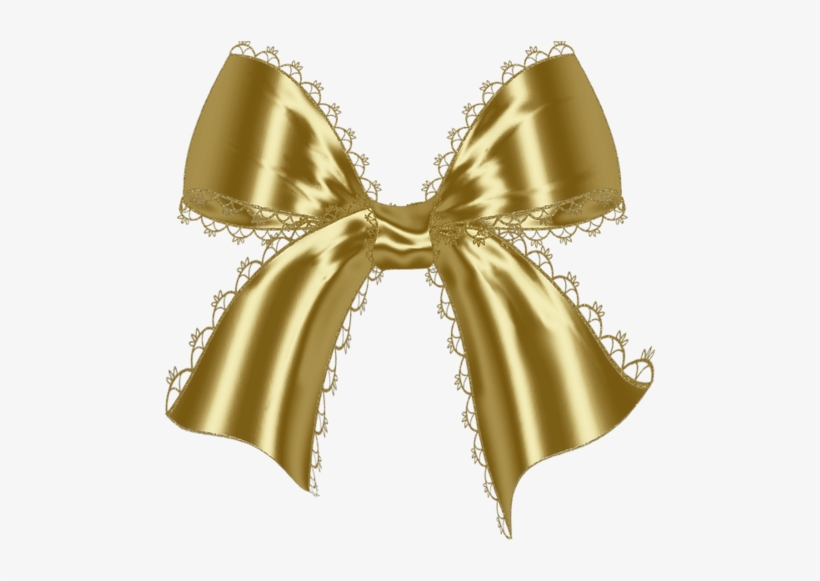 Golden Bow Myspace Comments And Graphics Myspace Comments - Gold Glitter Bow Png, transparent png #1831191