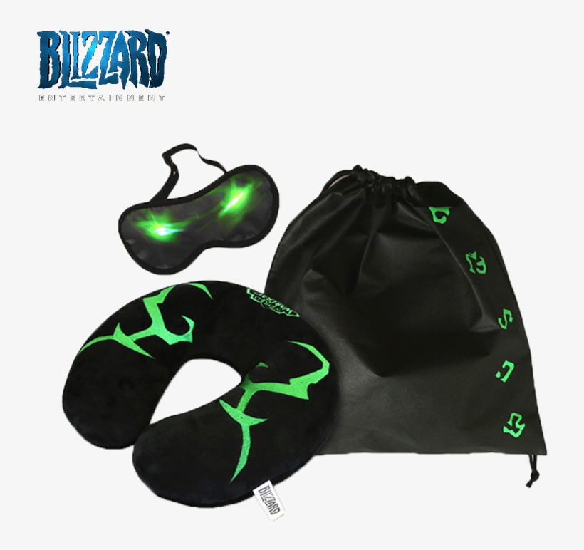 World Of Warcraft Wow Around Illidan Neck Pillow Sleep - World Of Warcraft, transparent png #1832307