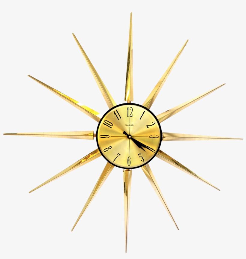 Huge M - Clock, transparent png #1839901
