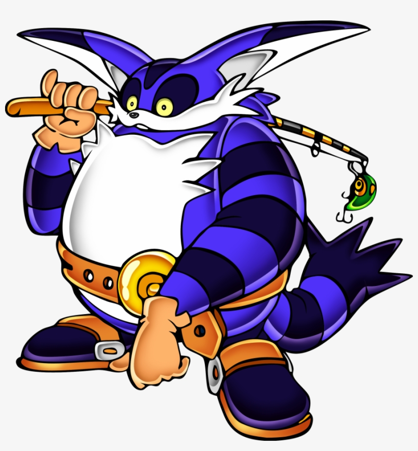 A Theme Song From The 1998 Dreamcast Game Sonic Adventure - Sonic Adventure Big The Cat, transparent png #1840356