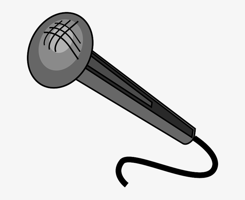 Old Fashioned Microphone Clipart, HD Png Download , Transparent Png Image -  PNGitem