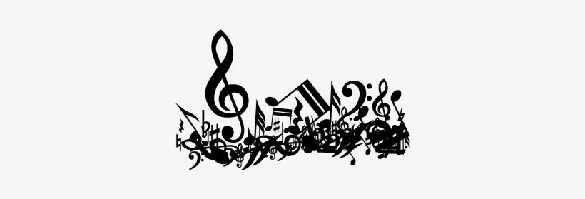 Rock And Roll, Music Notes, Vinyls, Silhouettes, Rock - Les Clefs Du Classique Cd, transparent png #1841010