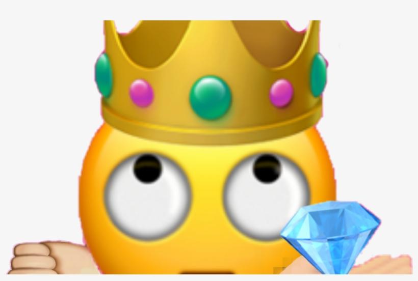 Emoji Queen Girls Girl Tiara Diamond Best Me Boy Boys - Emojis Do Iphone Em Png, transparent png #1842854