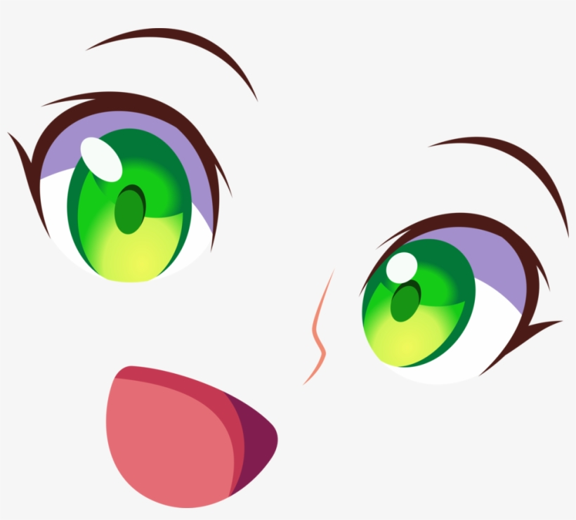 Eyes Smile Dark Magician Girl By Carionto - Girls Green Eye With Smile, transparent png #1844798