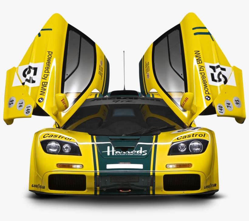 Mclaren P1 Gtr Front Car Yellow Png Image - Mclaren F1, transparent png #1845499