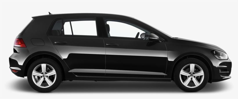 Volkswagen Golf Company Car Side View - Volkswagen Golf Side View, transparent png #1846290
