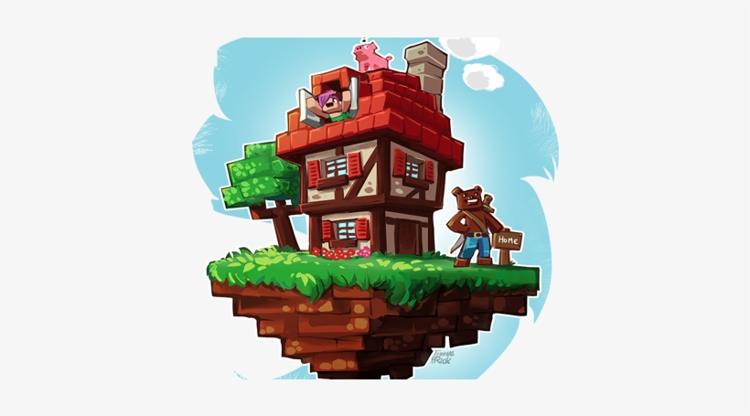 Player Housing - Hypixel Housing - Free Transparent PNG