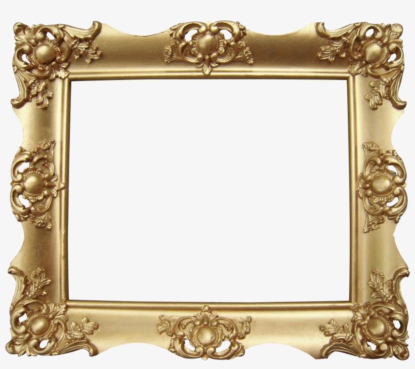 Gold Victorian Picture Frame X Evita Pinterest - Ornate Victorian Frame Gold, transparent png #1850246