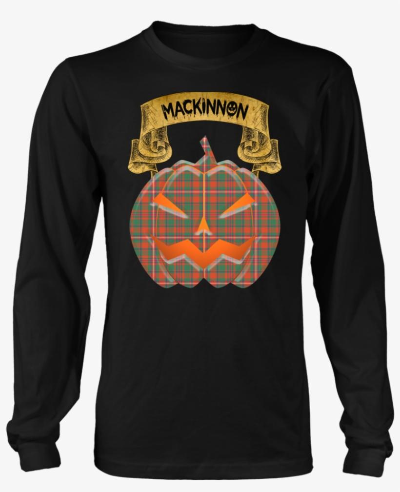 Mackinnon Ancient Tartan Jack O' Lantern T-shirt - Based In America Viking Roots T-shirt Usa Flag Gift, transparent png #1850398