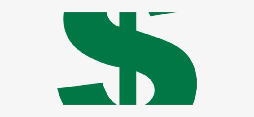 Green Dollar Sign Icon - Dollar Sign, transparent png #1851647