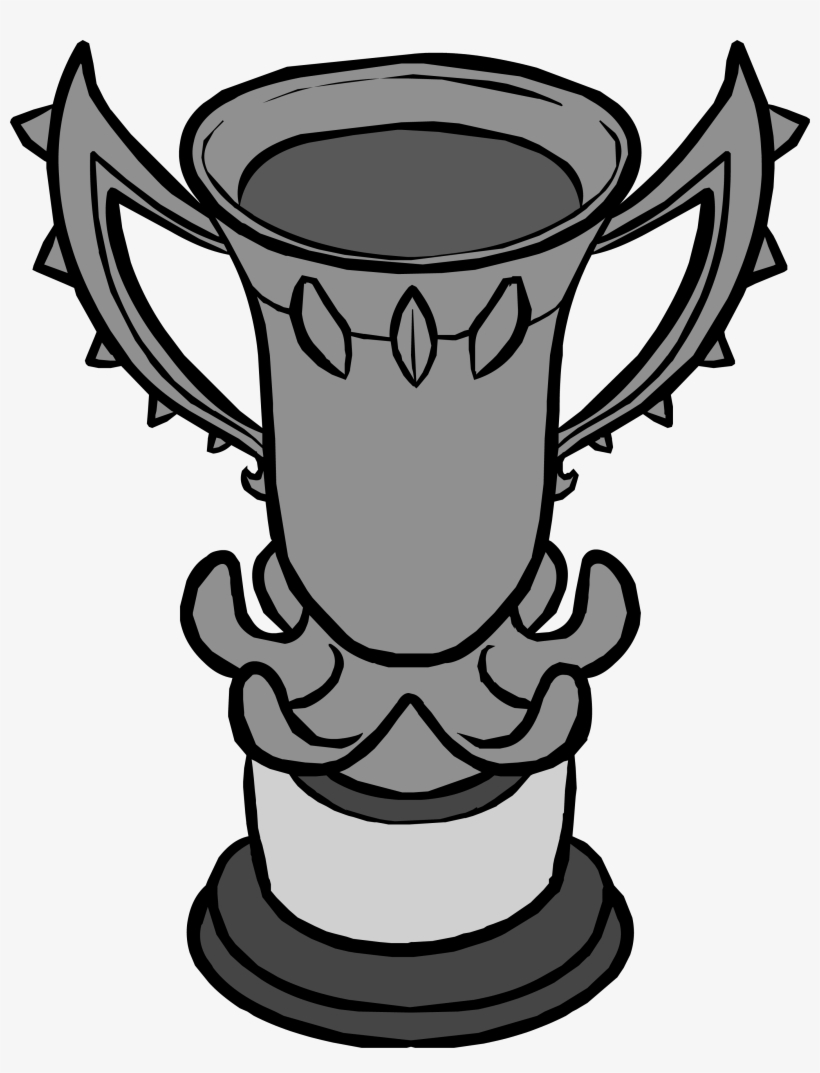 Games Trophy Club Penguin Graphic Royalty Free Download - Monsters University Scare Games Trophy, transparent png #1851877