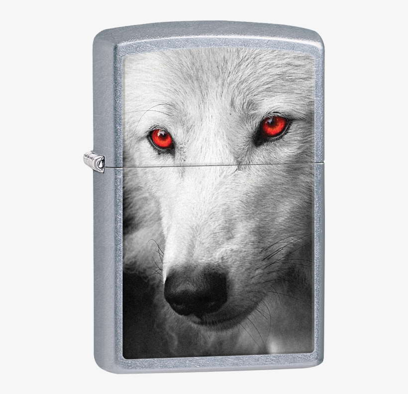 #28877 Wolf With Red Eyes - White Wolf Red Eyes, transparent png #1852711