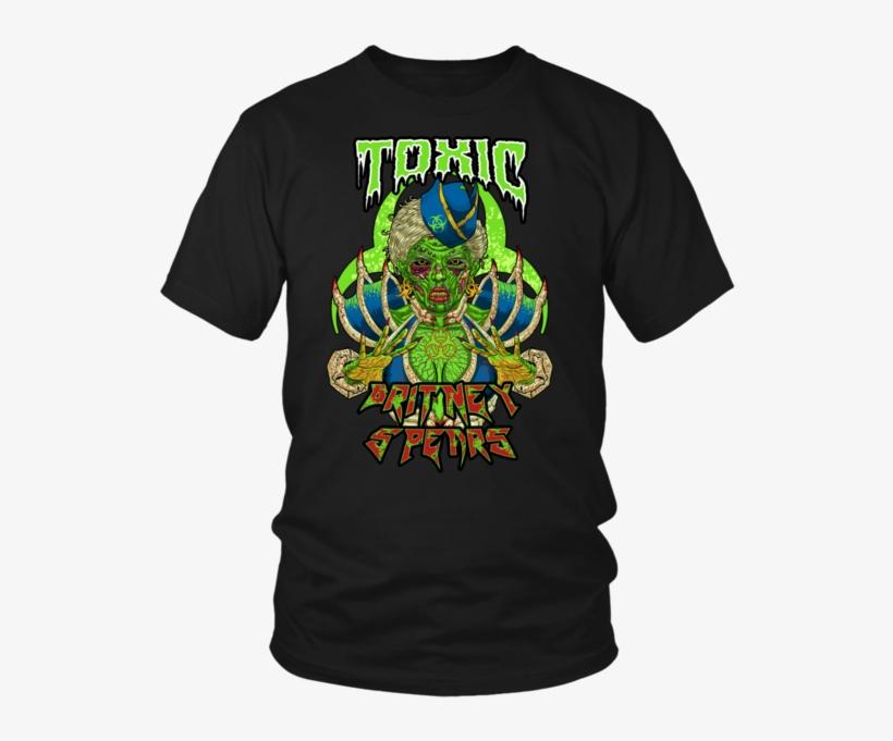 Toxic Metal Shirt - Britney Spears Metal T Shirt, transparent png #1852997