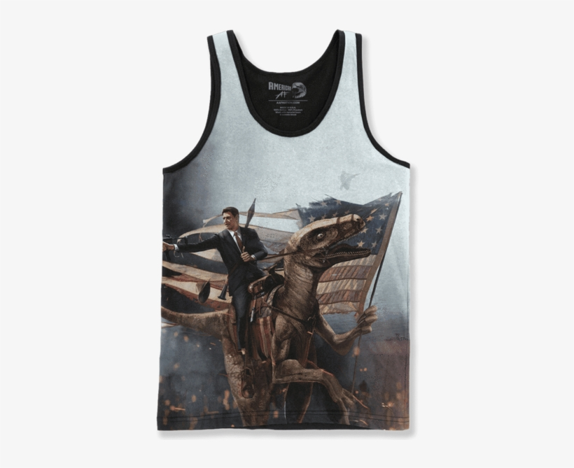 Ronald Reagan Velociraptor American Af Aaf Nation Png Mountain T Shirt Size Xl Free Transparent Png Download Pngkey American af's page, with more than 1.6 million followers, was banned without warning on oct. ronald reagan velociraptor american af