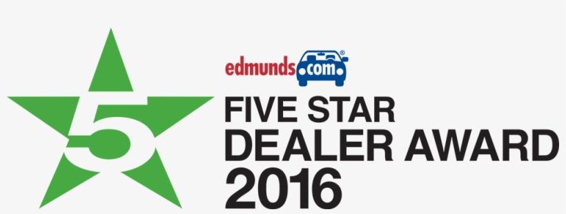 Edmunds Five Star Dealer Award, transparent png #1853063