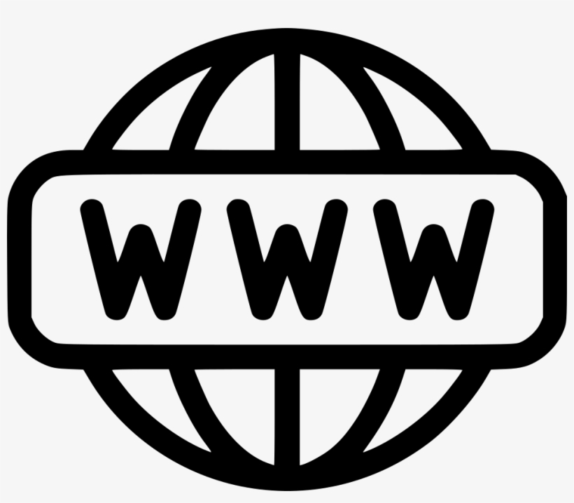 World Wide Web - World Wide Web Icon Png, transparent png #1853851
