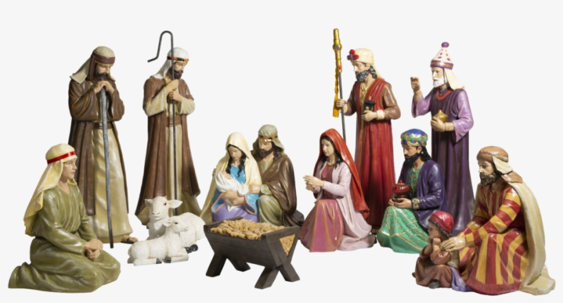 Life Size Nativity - Christmas Day, transparent png #1854521