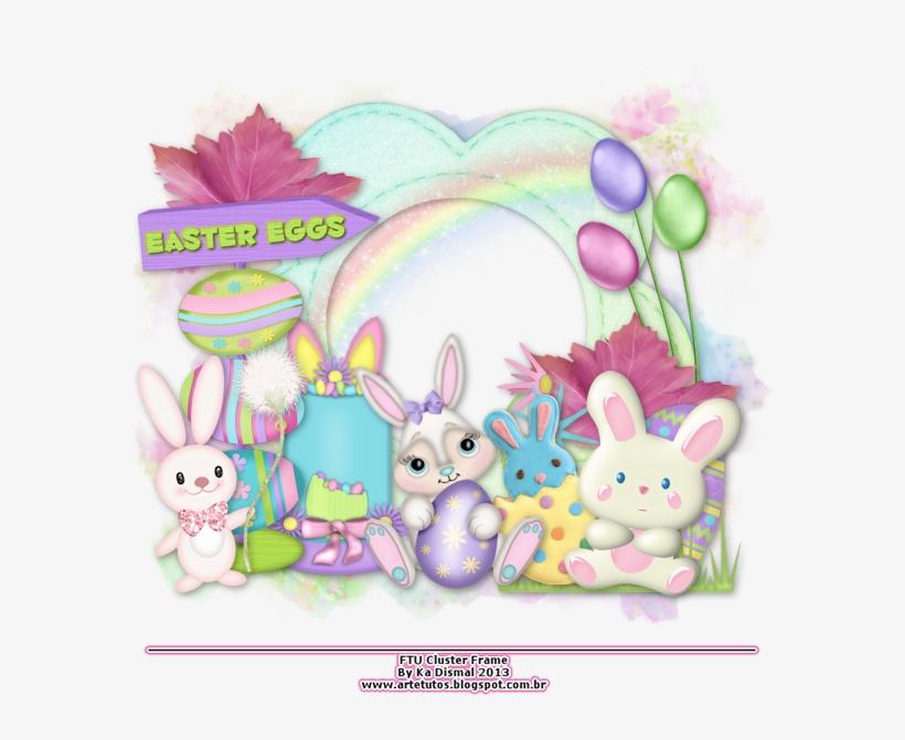 Art E Tutos - Easter Egg Cluster Frames, transparent png #1856067