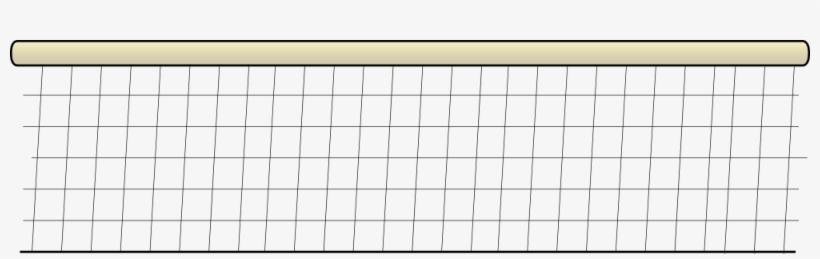 Volleyball Net - Clip Art Volleyball Border, transparent png #1856396