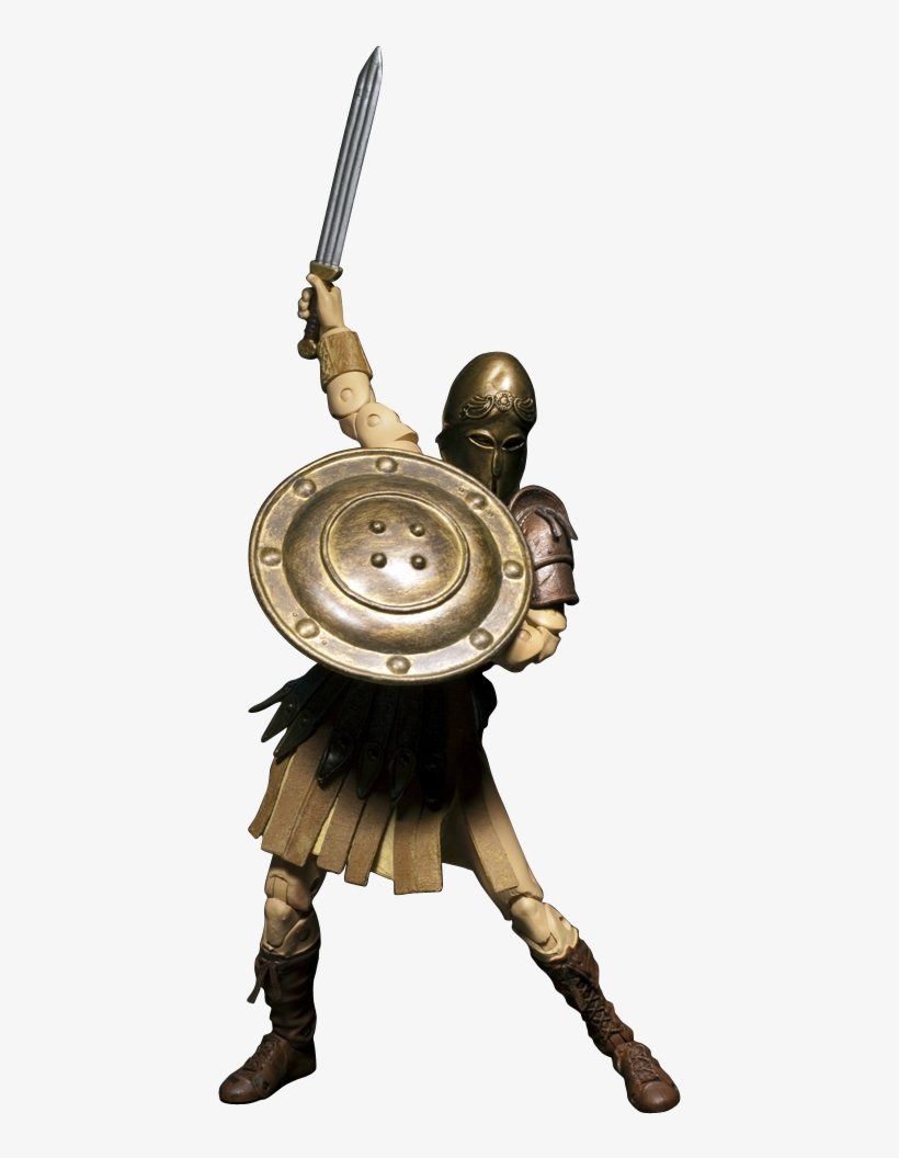 """Spartan 6"""" All-vinyl Figure With Your Face - Face, transparent png #1856690"""