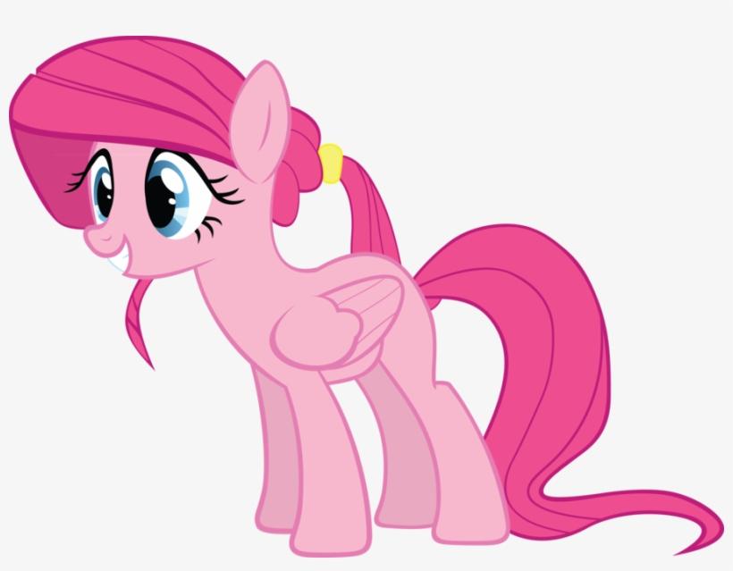 Aaramus, Fluttershy, Palette Swap, Pegasus, Pinkie - Pinkie Pie As A Pegasus, transparent png #1857880