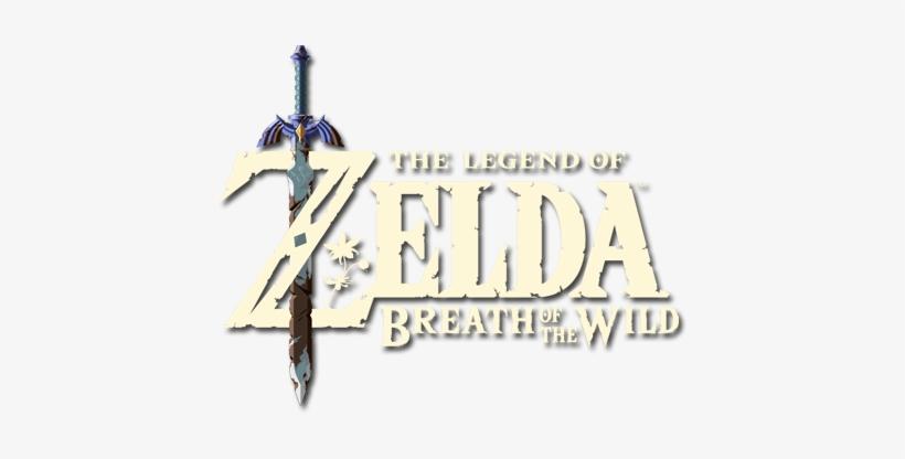 Zelda Breath Of The Wild Logo Png - Legend Of Zelda Breath Of The Wild Logo Png, transparent png #1858041