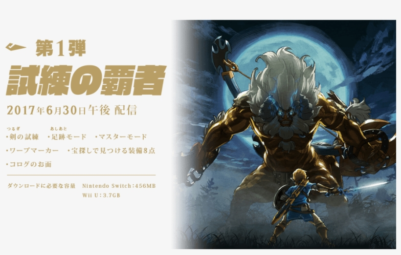 It's Interesting To See The Technological Gap Between - Legend Of Zelda Breath Of The Wild Golden Lynel, transparent png #1859164